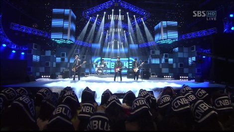 CNBLUE - Hey You (Goodbye Stage)_ No.1 @SBS Inkigayo 120422 2