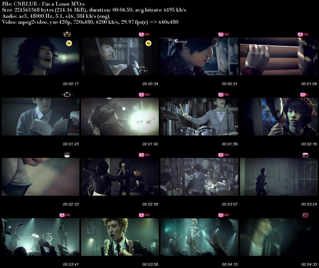 CNBLUE - I'm a Loner MV