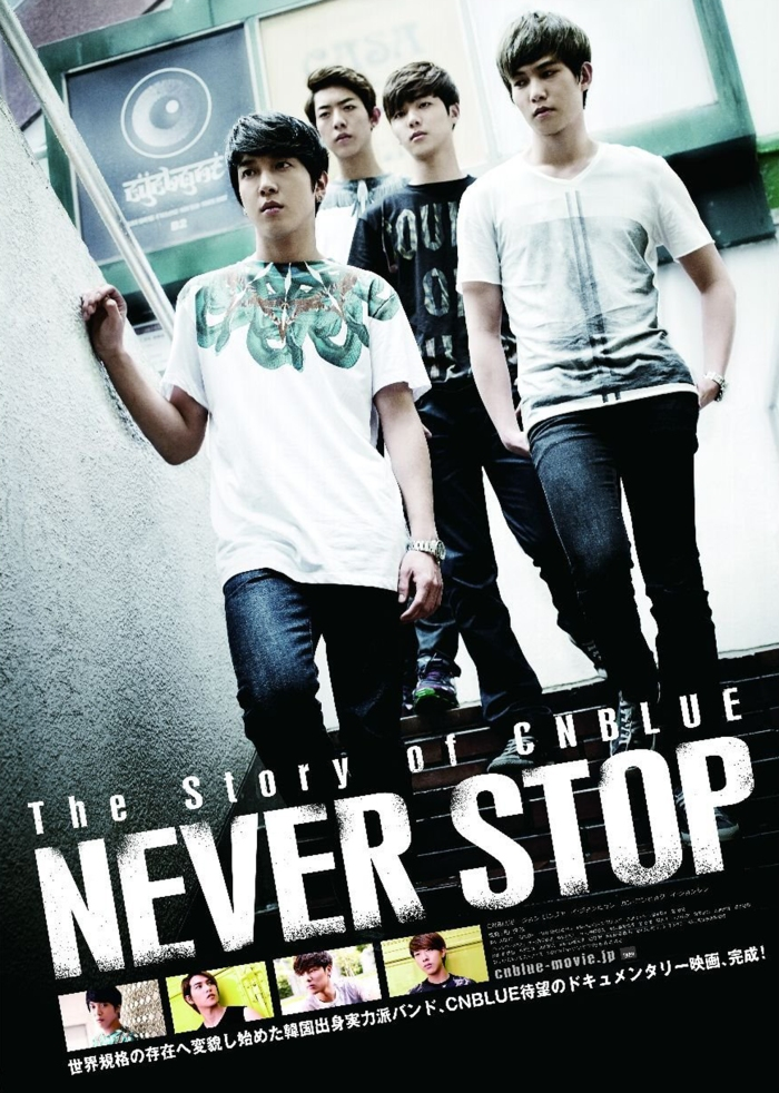 Never Stop Dvd cover