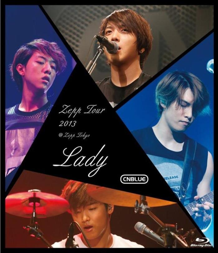 Zepp Tour 2013 -Lady- @Zepp Tokyo DVD Cover