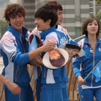 [Pic] 120720 Jung Yonghwa Official @ Running Man 'Idol Olympics Special' Episode 104