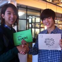 [News] 120914 Kang Minhyuk Spreads His 'Drama Power' to Lee Jungshin