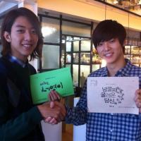 [News] 120914 Kang Minhyuk Spreads His 'Drama Power' to Lee Jungshin