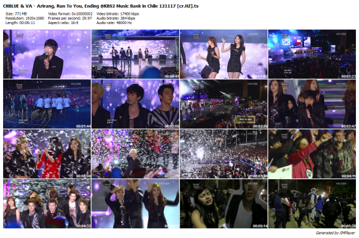 CNBLUE & VA - Arirang, Run To You, Ending @KBS2 Music Bank in Chile 121117 [cr.HZ]_preview