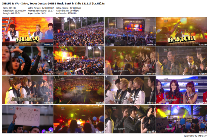 CNBLUE & VA - Intro, Todos Juntos @KBS2 Music Bank in Chile 121117 [cr.HZ]_preview
