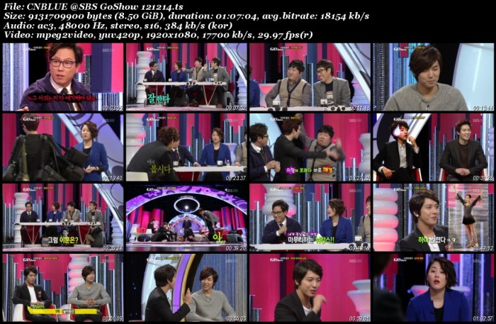 CNBLUE @SBS GoShow 121214