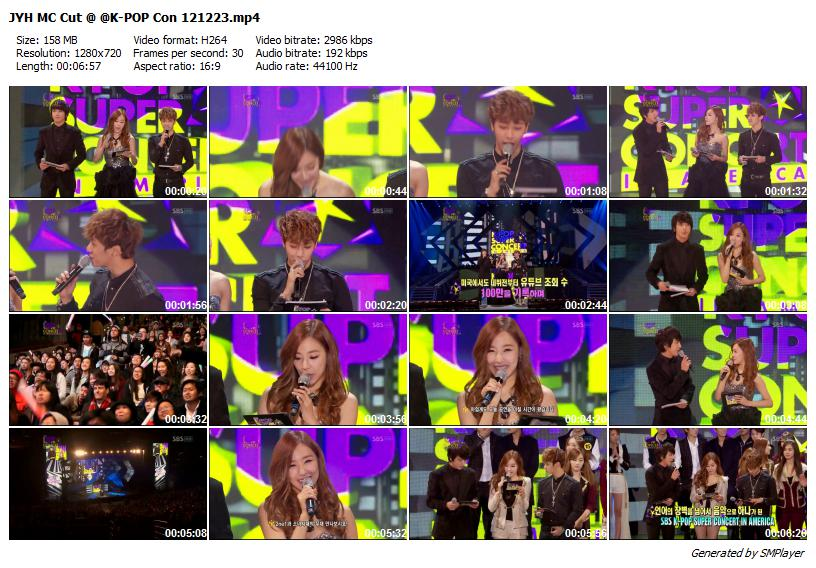 JYH MC Cut @ @K-POP Con 121223