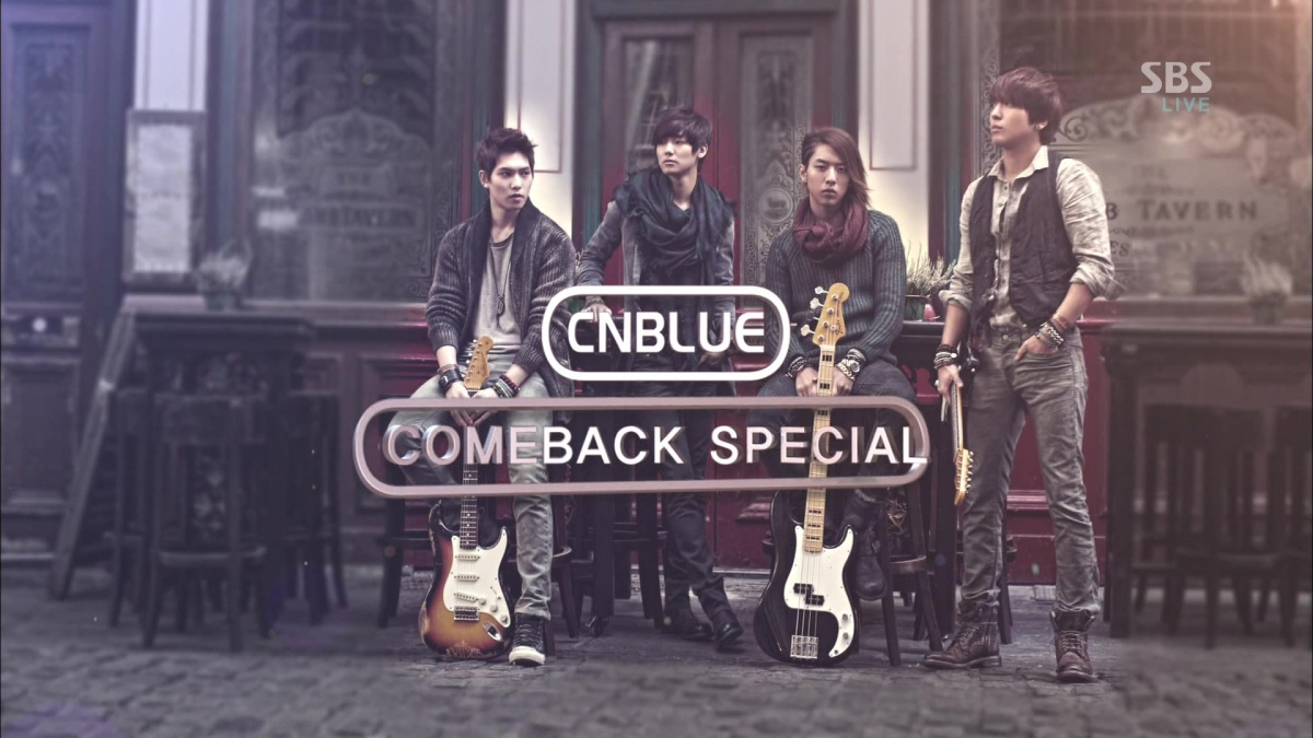 [Vid | Pic] 130120 CNBLUE - Interview, Coffee Shop & I'm Sorry @ SBS Inkigayo Plus Screen Caps
