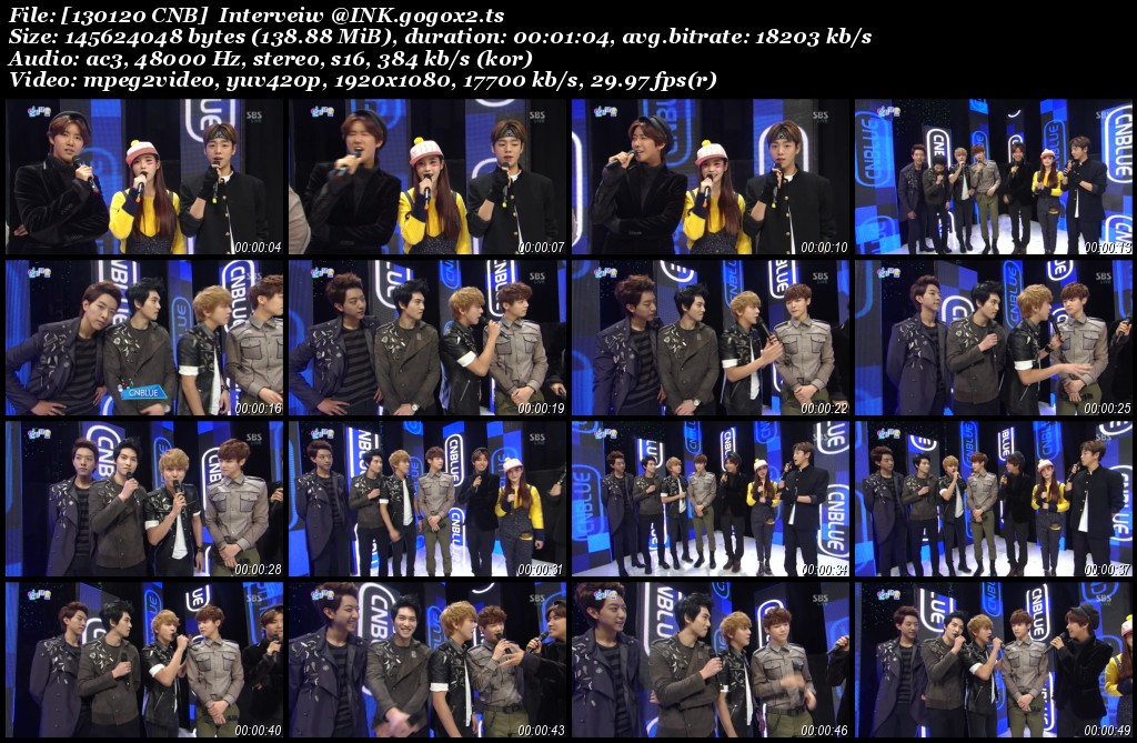 [130120 CNB]  Interveiw @INK.gogox2