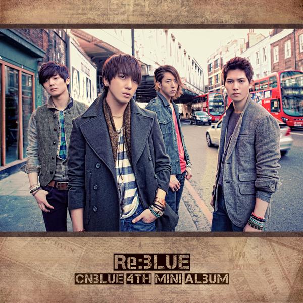 RE BLUE Album cover