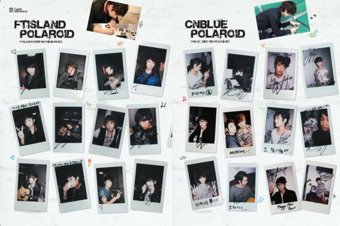 CNBLUE giveaway pics