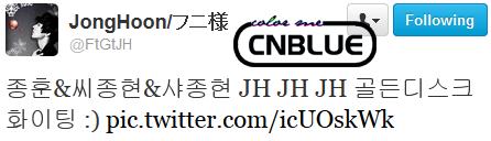Choi JH Tweet