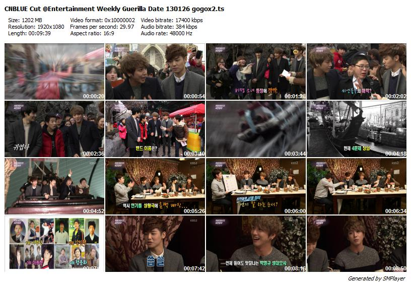 CNBLUE Cut @Entertainment Weekly Guerilla Date 130126 gogox2