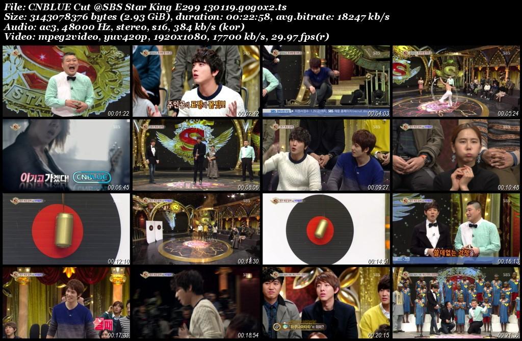 CNBLUE Cut @SBS Star King E299 130119.gogox2