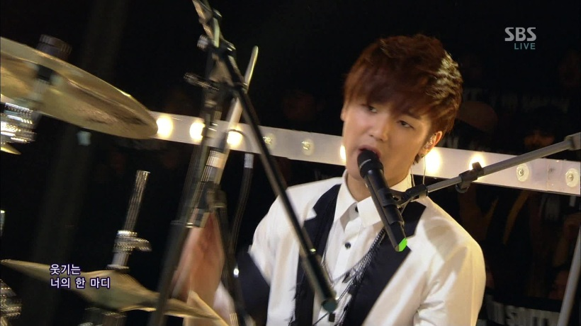 CNBLUE - I'm Sorry Live Stage @SBS Inkigoyo 130127 gogox2(1) 245