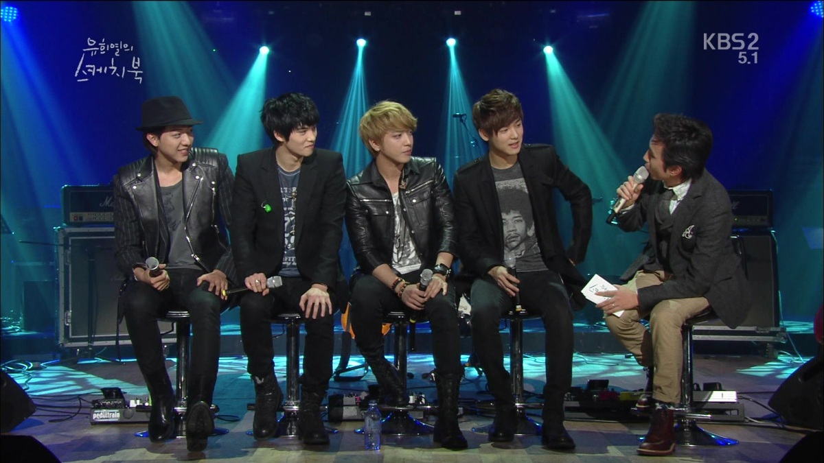 [Vid] 130126 CNBLUE - I'm Sorry, Talk, WYA, Love @ KBS YHY Sketchbook