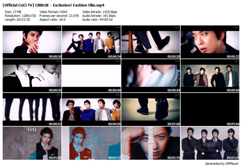 [Official CeCi TV] CNBLUE - Exclusive! Fashion Film