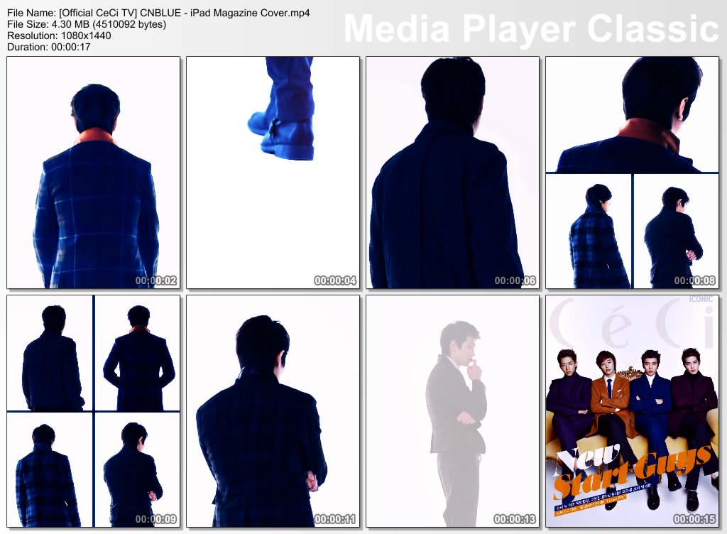 [Official CeCi TV] CNBLUE - iPad Magazine Cover.mp4