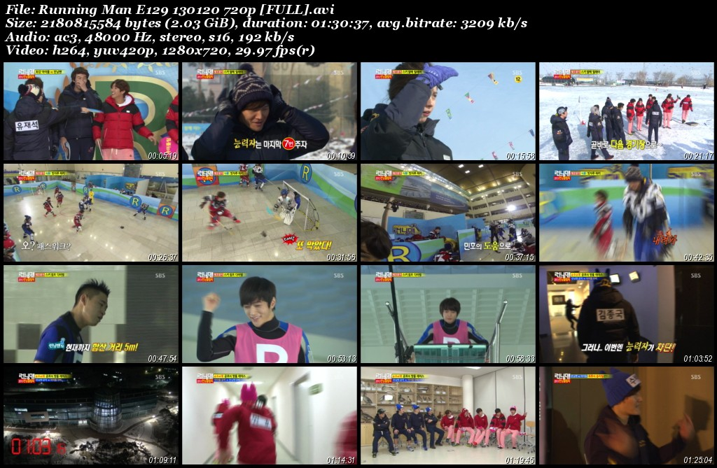 Running Man E129 130120 720p [FULL]
