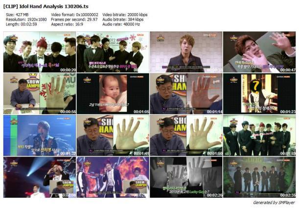 [CLIP] Idol Hand Analysis 130206