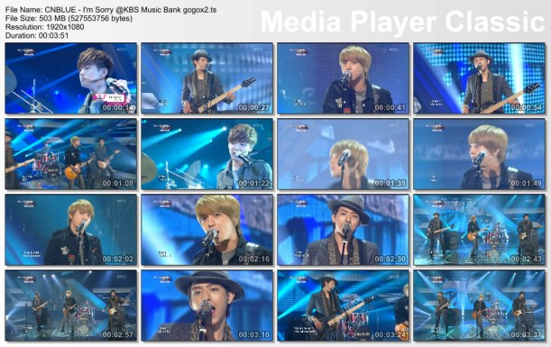 CNBLUE - I'm Sorry @KBS Music Bank gogox2