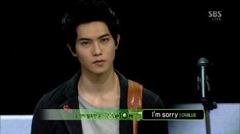 CNBLUE - I'm Sorry @SBS Inkigayo 130210 gogox2 007