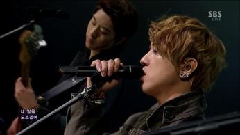 CNBLUE - I'm Sorry @SBS Inkigayo 130210 gogox2 024