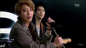 CNBLUE - I'm Sorry @SBS Inkigayo 130210 gogox2 093