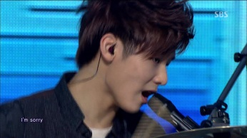 CNBLUE - I'm Sorry @SBS Inkigayo 130210 gogox2 115