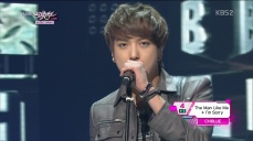 CNBLUE - Man Like Me, I'm Sorry Goodbye Stage @KBS Music Bank 130222(1) 06