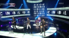 CNBLUE - Man Like Me, I'm Sorry Goodbye Stage @KBS Music Bank 130222(1) 10