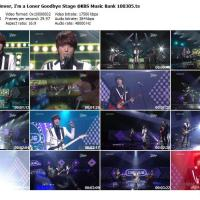 [Vid] 100305 CNBLUE - Now or Never, Loner Goodbye Stage @ KBS Music Bank