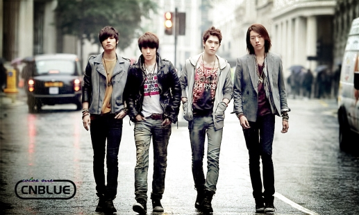 CNB Walking In London by ColorMeCNBLUE