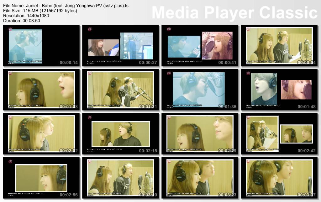 Juniel - Babo (feat. Jung Yonghwa PV (sstv plus).ts