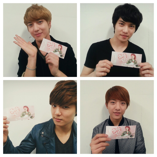 CNBLUE 130413 Twitter - Before