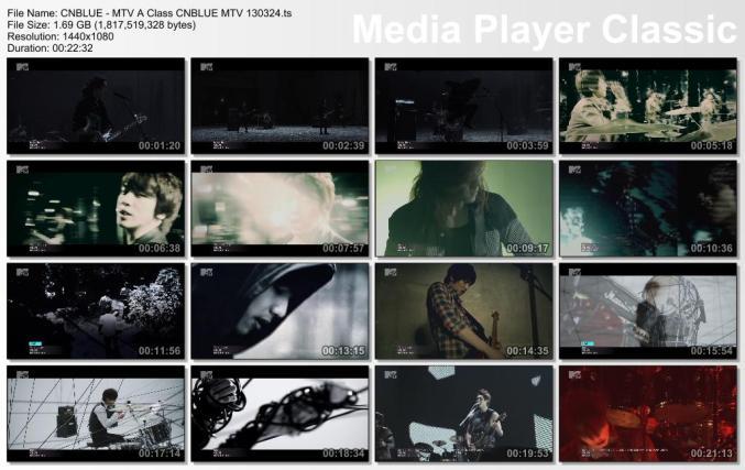 CNBLUE - MTV A Class CNBLUE MTV 130324