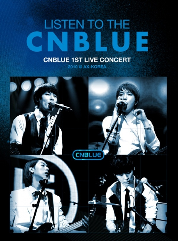 Listen to the CNBLUE DVD Korea