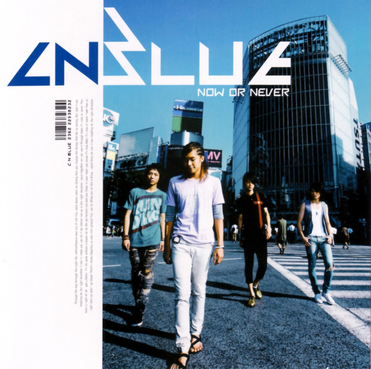 [Album] CNBLUE ~Now or Never~ 1st Mini Album [MP3|FLAC]