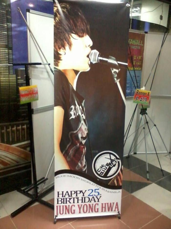 CNB USA Banner at BM in Manila