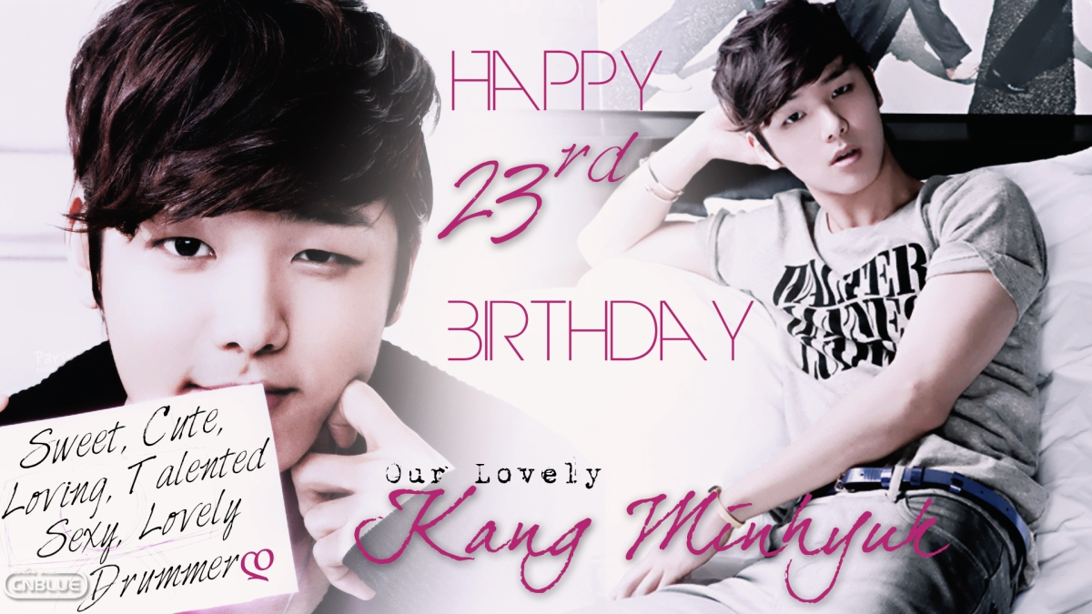 [Site News] Wishing A Happy Birthday To Lovely Kang Minhyuk & Cake Project!!
