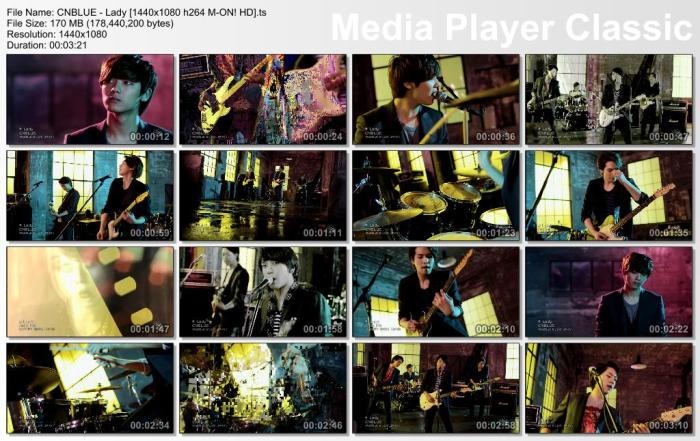 CNBLUE - Lady [1440x1080 h264 M-ON! HD].ts
