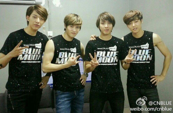 130824 Yonghwa's Weibo Update
