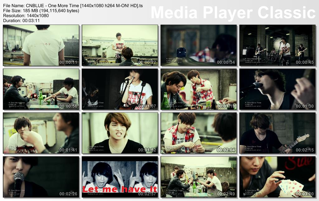 CNBLUE - One More Time [1440x1080 h264 M-ON! HD].ts