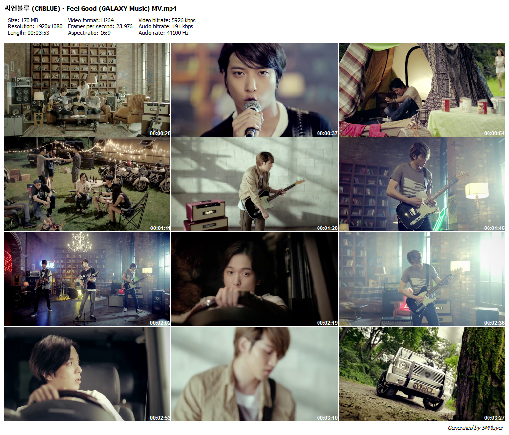 씨엔블루 (CNBLUE) - Feel Good (GALAXY Music) MV_preview