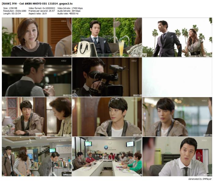 [RAW] JYH - Cut @KBS MHIYD E01 131014 .gogox2_preview