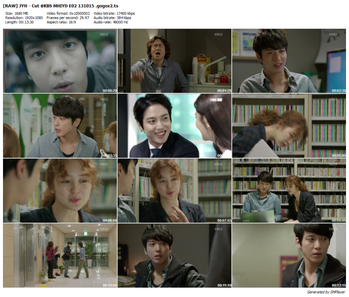 [RAW] JYH - Cut @KBS MHIYD E02 131015 .gogox2_preview