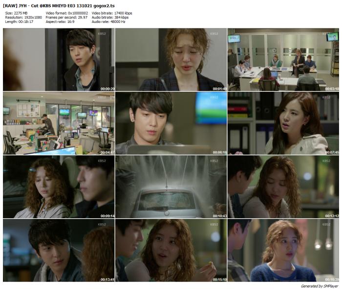 [RAW] JYH - Cut @KBS MHIYD E03 131021 gogox2_preview
