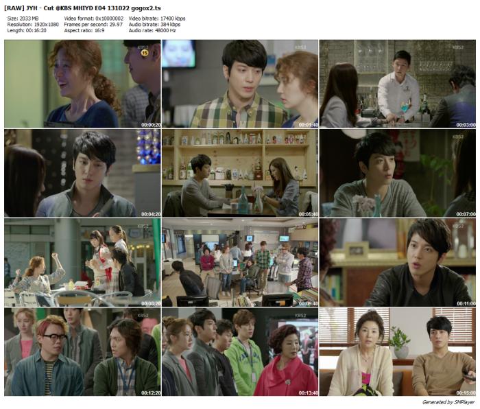 [RAW] JYH - Cut @KBS MHIYD E04 131022 gogox2_preview