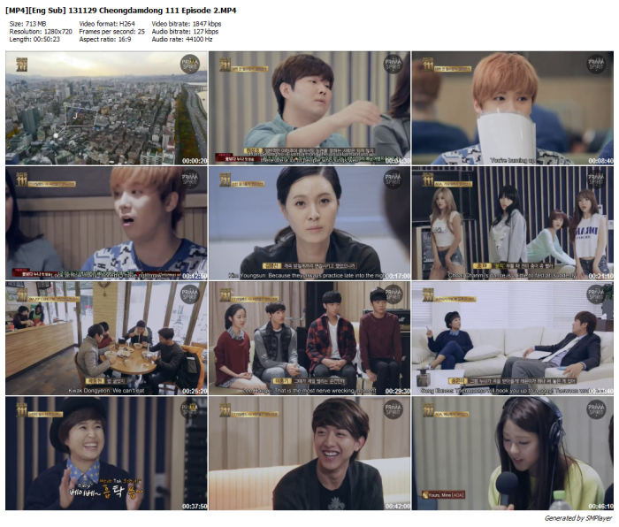 [Eng Sub] 131129 Cheongdamdong 111 Episode 2 [MP4]