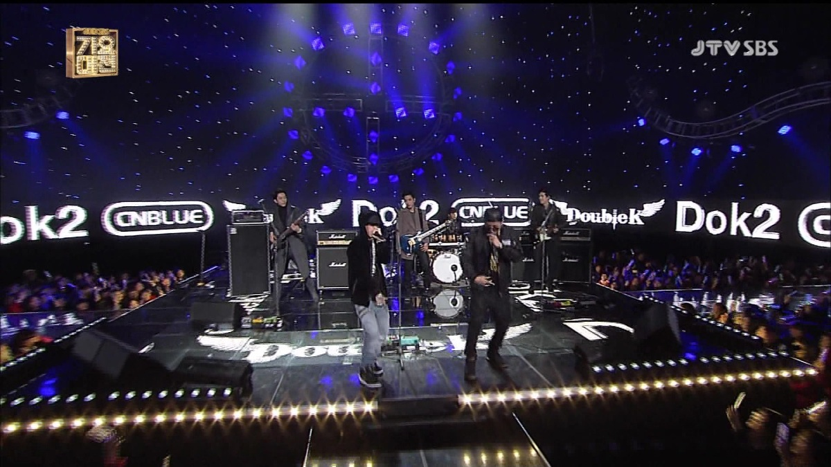 [Vid | Pic] 131229 CNBLUE - I'm Sorry Feat Dok2, You Are A Miracle @ SBS Gayo Daejun Music Festival